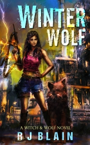 Winter Wolf Cover Art by RJ Blain